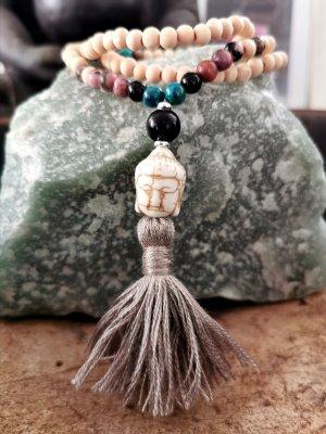 Handmade Collana di perle multicolore
