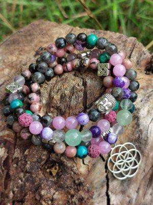 Mala Collar de perlas multicolor