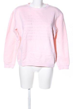 Malaika Raiss Rundhalspullover pink Casual-Look