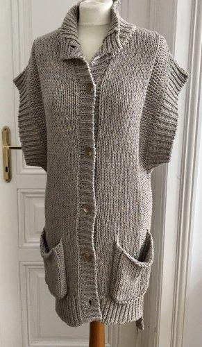 by Malene Birger Short Sleeve Knitted Jacket beige