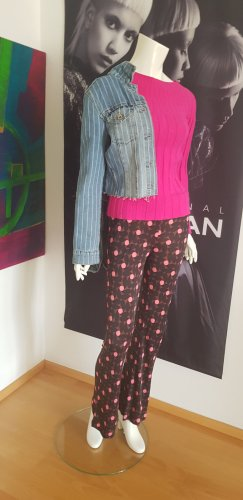 Maliparmi hose Pullover pink ital Boutique uns Jeansjacke used look Stripes small