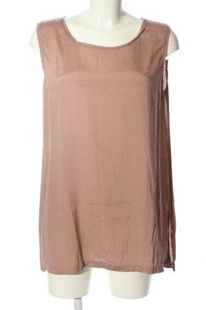 Maliparmi Haut en soie rose style décontracté