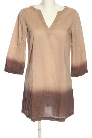 Maliparmi Beach Dress cream-brown casual look