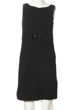 Maliparmi Strickkleid schwarz Casual-Look