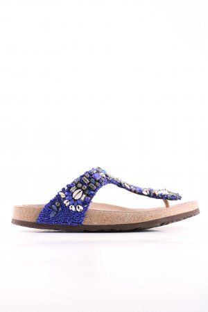 Maliparmi T-Steg-Sandaletten blau Elegant