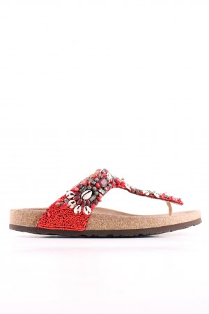 Maliparmi T-Steg-Sandaletten rot Casual-Look