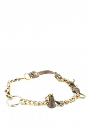 Maliparmi Waist Belt brown-gold-colored elegant