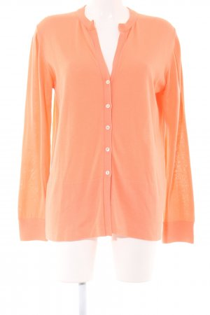 malo Cardigan light orange casual look