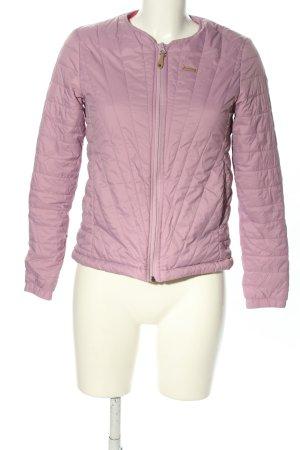 Maloja Daunenjacke pink Steppmuster Casual-Look