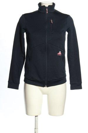 Maloja Softshell Jacket black themed print casual look
