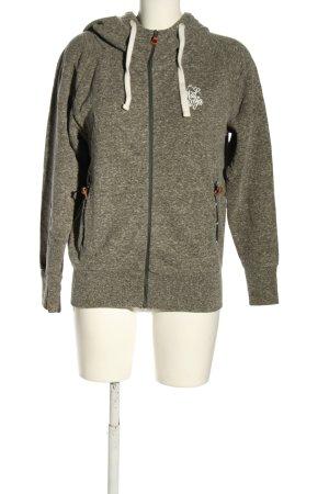 Maloja Sweat Jacket light grey flecked simple style