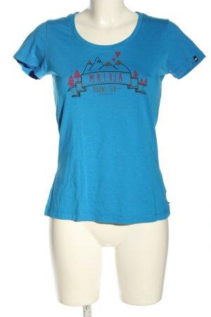 Maloja T-Shirt flecked casual look