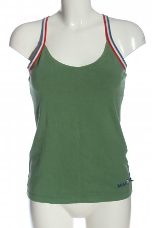 Maloja Strappy Top green casual look