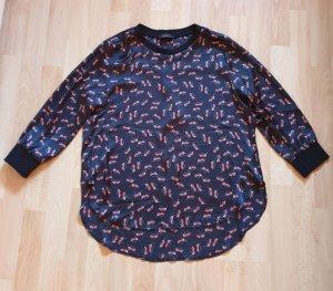 Maloo HSE24 - Shirt schwarz -rot Gr. 34 - NEU!