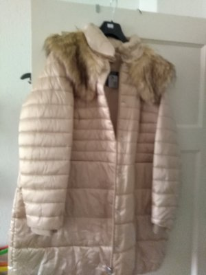 Quilted Jacket gold-colored