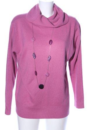 Malva Rollkragenpullover pink Casual-Look