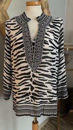 Malvin Hamburg Blouse Shirt black-white