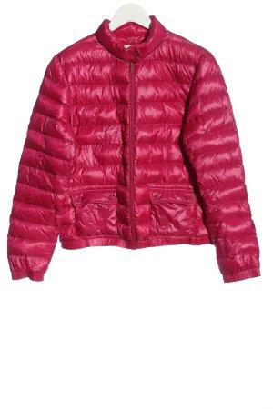 Malvin Doudoune rose motif de courtepointe style décontracté