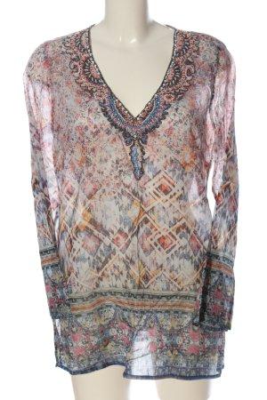 Malvin Camicia blusa motivo astratto stile casual