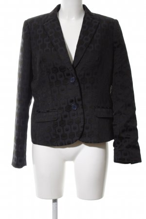 Malvin Jerseyblazer schwarz grafisches Muster Business-Look