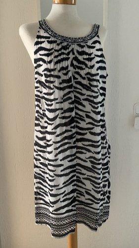 Malvin Hamburg Midi-jurk zwart-wit
