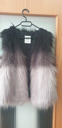 Malvin Fake Fur Vest black