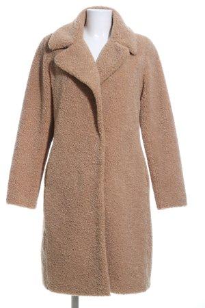 Malvin Cappotto in eco pelliccia marrone stile casual