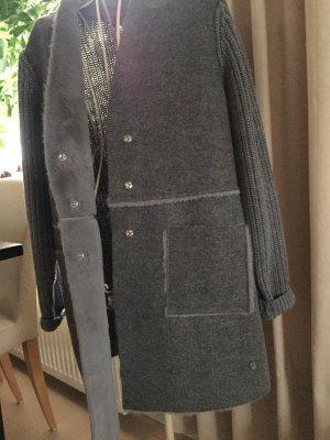 Malvin Fake Fur Jacket grey