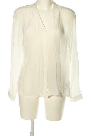 Malvin Langarm-Bluse weiß Elegant