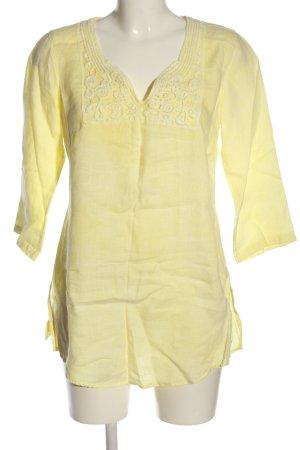 Malvin Linen Blouse primrose casual look