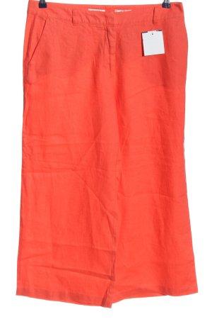 Malvin Pantalone di lino rosso stile casual