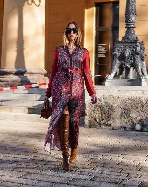 Malvin Shirtwaist dress multicolored
