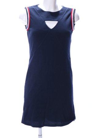 Malvin Minikleid blau-rot Casual-Look