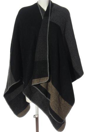 Malvin Ponczo jasnoszary-czarny Melanżowy W stylu casual
