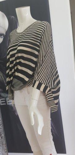 Malvin Poncho blanc-noir