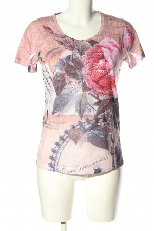 Malvin Print-Shirt Allover-Druck Casual-Look
