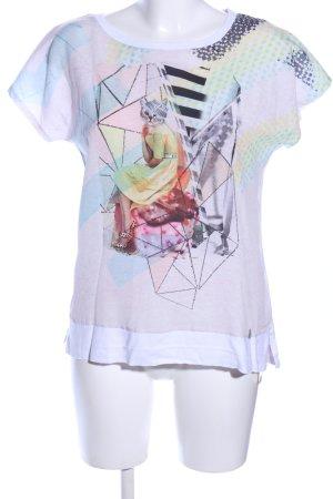 Malvin Print-Shirt Motivdruck Casual-Look