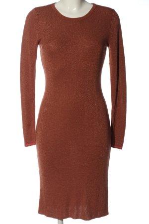 Malvin Swetrowa sukienka czerwony W stylu casual
