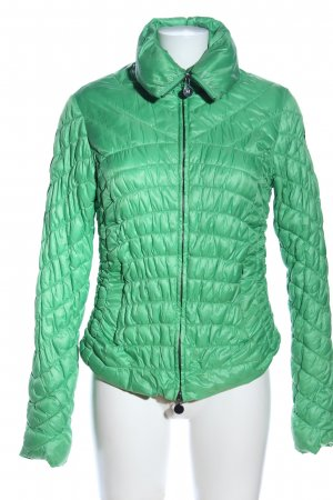 Malvin Quilted Jacket green quilting pattern casual look