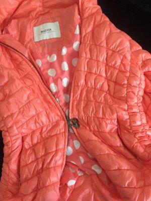 Malvin Outdoor Jacket orange-white