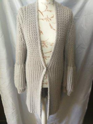 Malvin Cappotto a maglia grigio chiaro