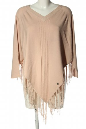 Malvin Knitted Poncho natural white casual look