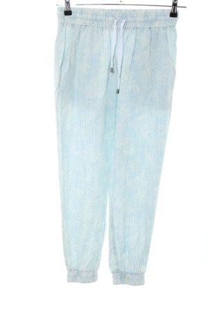 Malvin Pantalone fitness turchese-bianco sporco Lyocell
