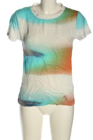 Malvin T-Shirt abstraktes Muster Casual-Look