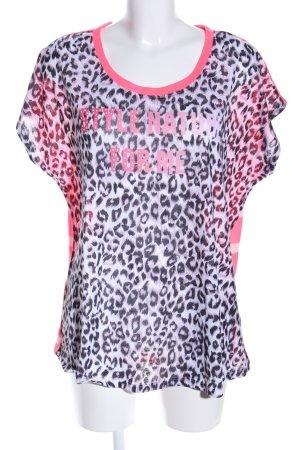 Malvin T-Shirt Animalmuster Casual-Look