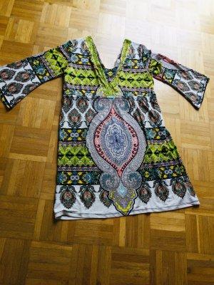 Malvin Vestido tipo túnica multicolor