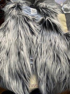 Malvin Woman Fur vest multicolored