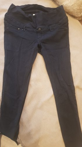 H&M Jeans a gamba dritta nero