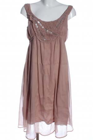 Mama licious A-Linien Kleid braun Elegant