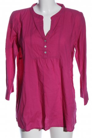 Mama licious Hemd-Bluse pink Casual-Look